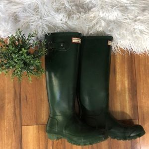 Vintage Hunter Rain Boots